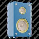 speaker, sound, audio, music, megaphone, multimedia, device