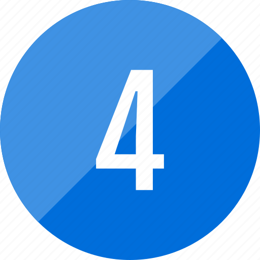 Count, four, number, numero icon - Download on Iconfinder