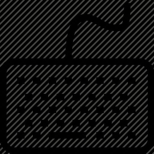 computer keyboard, keyboard icon