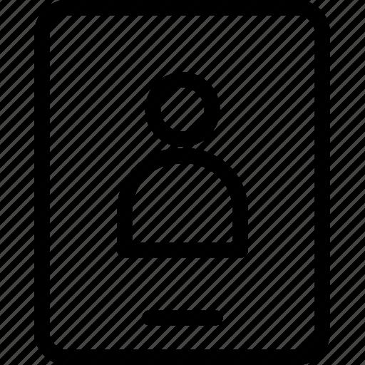 card, id, id card, identity, identity card icon