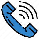 calls, communications, deals, phone, ring icon