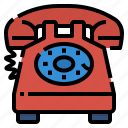 call, communications, deals, landline, phone icon