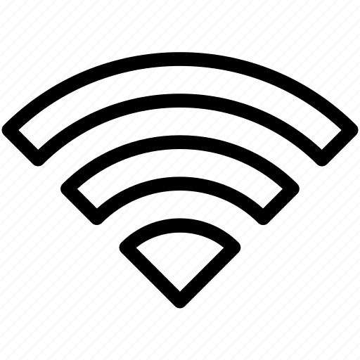 communication, connection, creative, grid, internet, line, network, not-wired, radio, shape, technology, wifi, wireless icon