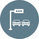 light, road, signal, stop, town, traffic, transportation icon