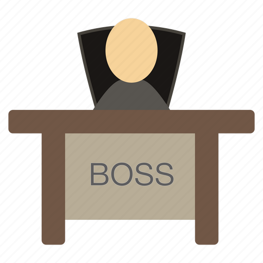 Boss, ceo, chief, director, headmaster icon - Download on Iconfinder