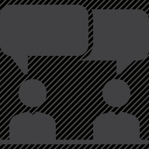 bubble, conversation, discussion, forum, speech icon