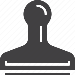 approved, rubber, stamp icon