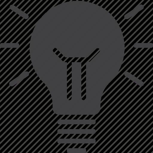 idea, lamp, lightbulb icon