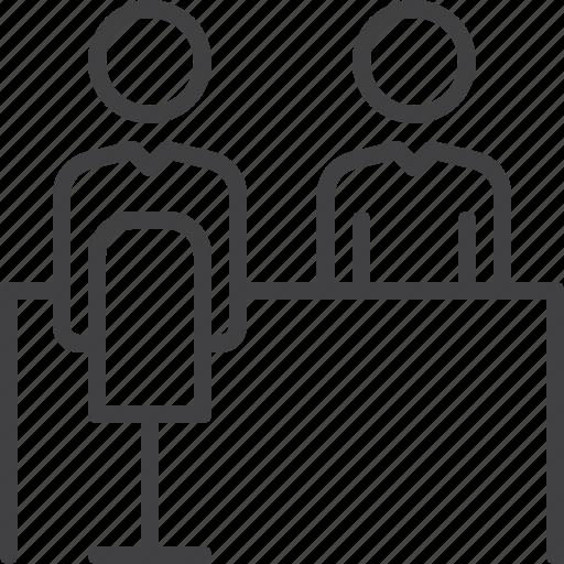employee, interview, job, recruitment icon