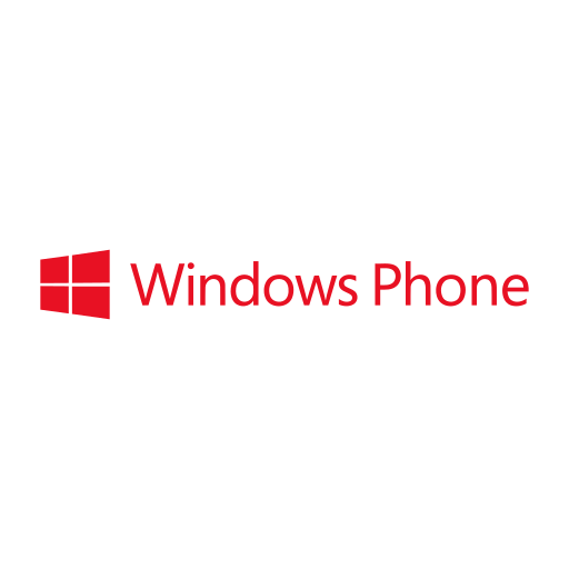 company, logo, phone, windows icon
