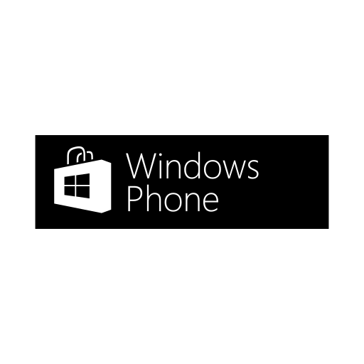logo, phone, store, windows icon