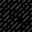 company, crm, service icon