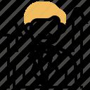chief, executive, hierarchy, leader, president icon
