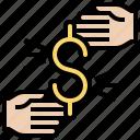 costing, exchange, money, price, trade icon