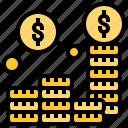 accountant, business, finance, money, profit icon
