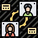 employment, human, management, recruitment, resource icon