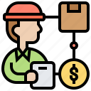 material, product, purchase, supply, support icon