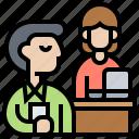 assistance, consultant, mentor, supervisor, teacher icon