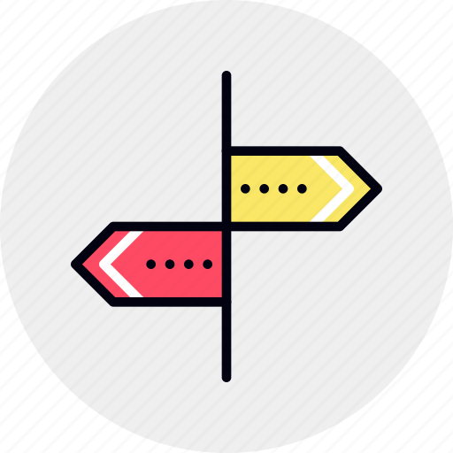 Arrow, choice, choose, decision, direction, sign, way icon - Download on Iconfinder