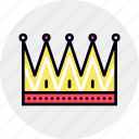 crown, honor, king, market, royal, supremacy, victory icon