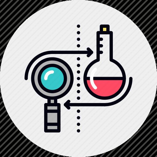 analysis, business, develop, development, market, research icon