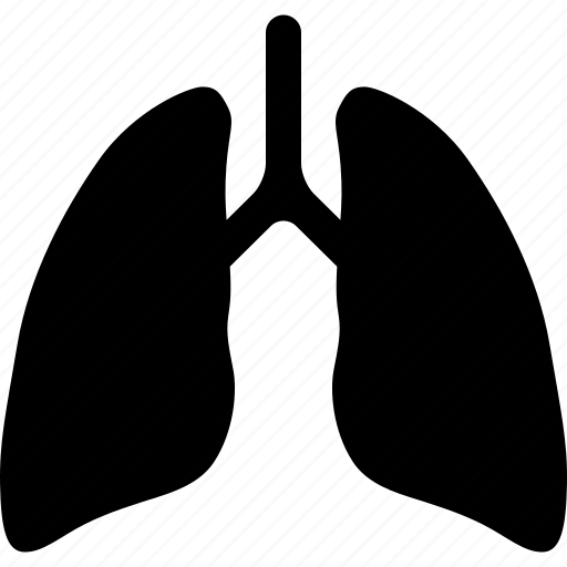 cancer, lung, lungs, organ, respiratory, system, ventilatory icon