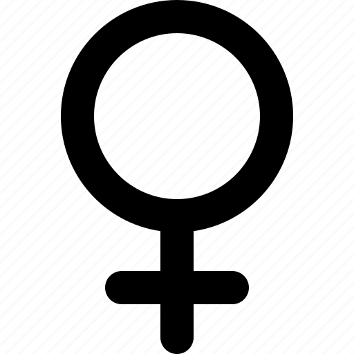 biological, female, gender, medical, sex, sign, woman icon