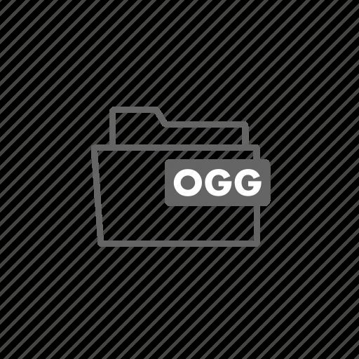 dirac, filename, format, ogg, theora, video, vorbis icon