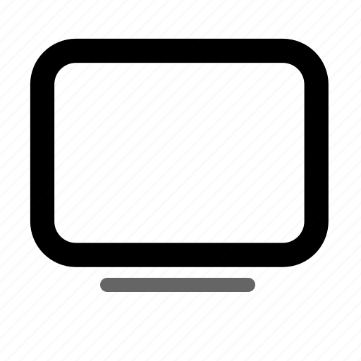 device, display, monitor, screen, television icon