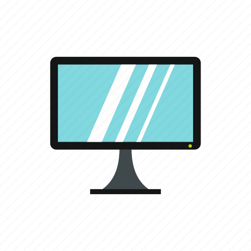 computer, display, equipment, modern, monitor, screen, technology icon