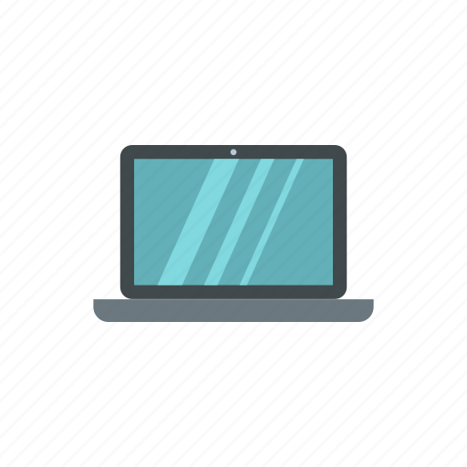computer, laptop, modern, monitor, notebook, screen, technology icon