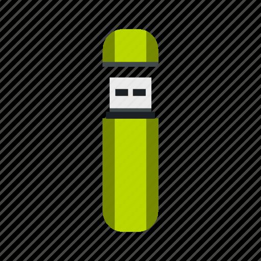 digital, drive, flash, memory, storage, technology, usb icon