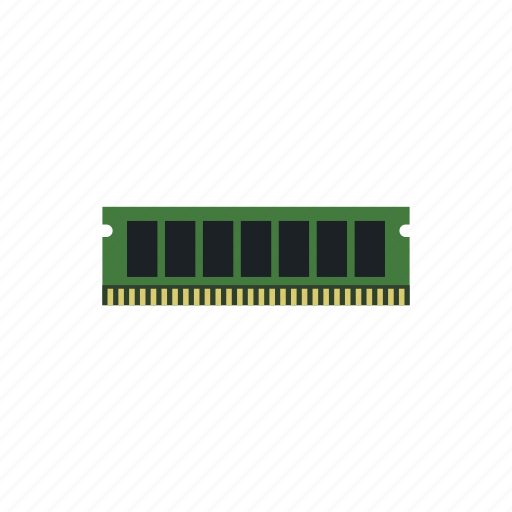 access, chip, data, memory, pc, ram, technology icon