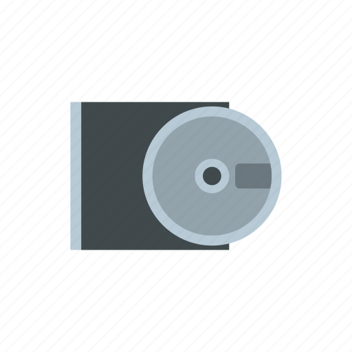 cd, disk, drive, dvd, record, rom, storage icon