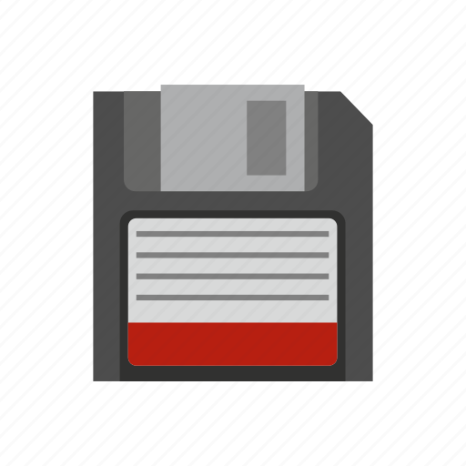 computer, data, disk, diskette, floppy, memory, technology icon