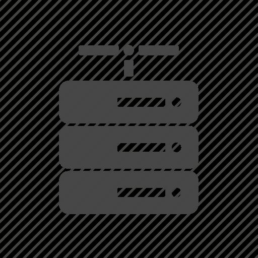 device, internet, network, server icon