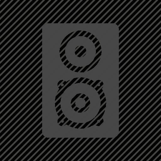 audio, box, buffer, speaker icon