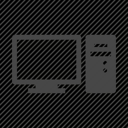computer, device, monitor, screen icon
