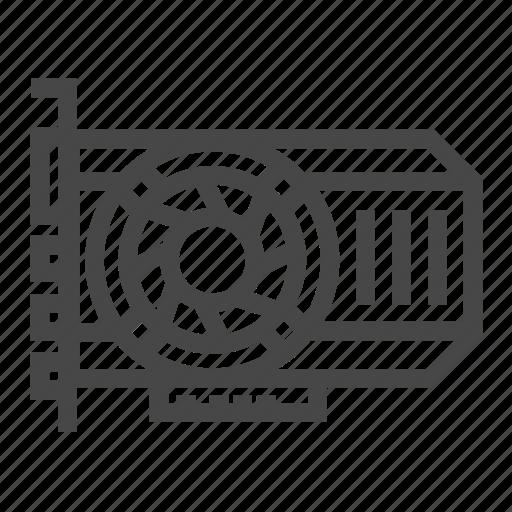 Hardware, graphic, vga, card icon