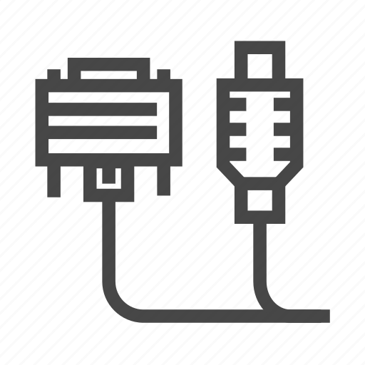 adapter, cable, charge, charging, sync icon