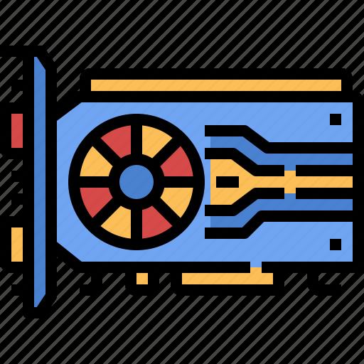 computer, digital, parts, processor, ram, technology, tools icon