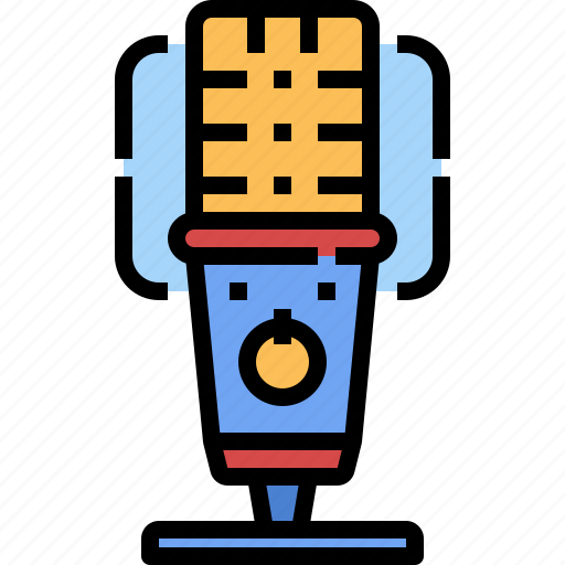 microphone, record, recording, sound, technology, voice icon