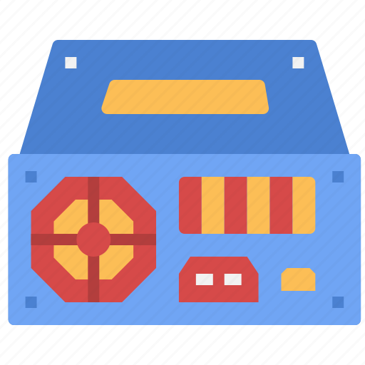 computer, digital, electric, parts, power, technology, tools icon