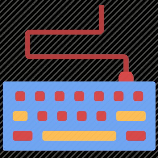 computer, digital, keyboard, keys, parts, technology, tools icon