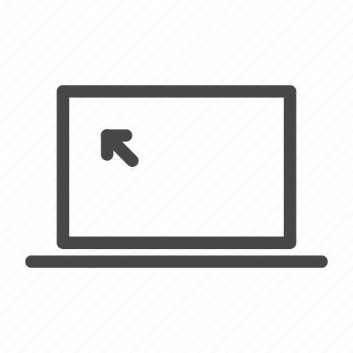 computer, device, display, laptop, pc, screen, technology icon
