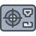 computer, device, hardware, power icon