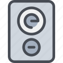 computer, device, hardware, song, sound, speaker icon