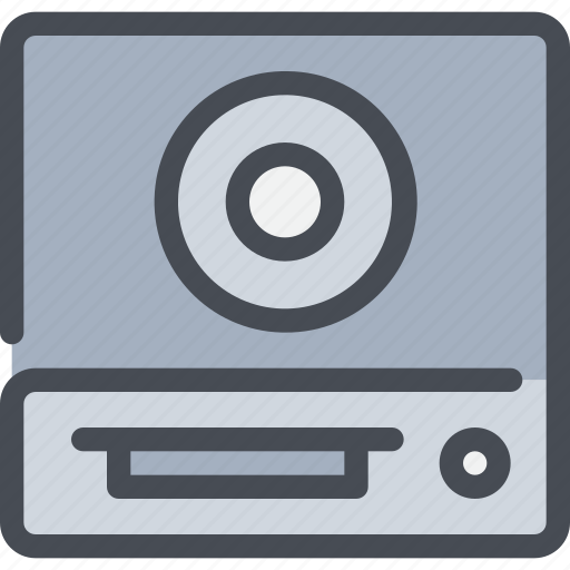 cd, computer, device, hardware icon