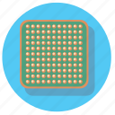 chip, comp, computer, microprocessor icon