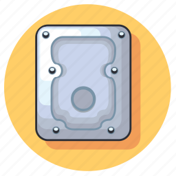 computer, device, disk, hard, hardware, technology icon